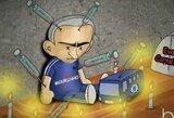 Internautų pokštai: A.Wengeras ir E.Carneiro patenkinti J.Mourinho atleidimu, o B.Rodgersas skuba į pagalbą