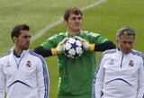 """I.Casillasas: """"Jei būčiau treneris, norėčiau būti toks kaip J.Mourinho"""""""