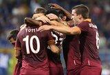 """""""Roma"""" klubas tapo """"Serie A"""" čempionato lyderiu (+ kiti rezultatai)"""