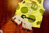 """Dukterinė """"76ers"""" komanda žais su """"Kempiniuko Plačiakelnio"""" aprangomis"""