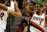 "Triuškinanti ""Trail Blazers"" pergalė pažymėta NBA rekordu"