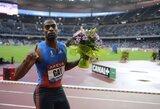 """Sprinteris T.Gay'us: """"Londone medalį garantuos tik 9.70 sek. rezultatas"""""""