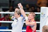 Europos bokso čempionas E.Stanionis nori grįžti į olimpinį ringą