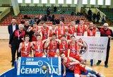 A.Marčiulionio ir Ą.Tubelio tandemas atvedė Vilniaus KM į U17 vaikinų čempionato viršūnę