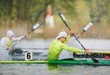 Baidarininkai sieks dar vieno olimpinio kelialapio