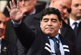 """D.Maradona: """"Aš turėčiau daugiau """"auksinių kamuolių"""" nei C.Ronaldo ir L.Messi"""""""