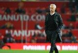 """Toną pakeitęs J.Mourinho pripažino, jog """"Man United"""" finišuoti """"Premier"""" lygoje tarp keturių stipriausių komandų būtų stebuklas"""