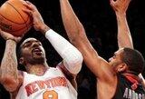 """Lyg ant sparnų žaidusio J.R.Smitho įsibėgėjančių """"Knicks"""" nesustabdė ir """"Grizzlies"""" klubas"""