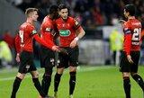 """Prancūzijos futbolo taurės pusfinalis – """"Rennes"""" išvykoje palaužė """"Lyon"""""""