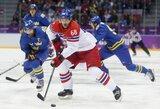 Rungtynių pradžioje čekus pribloškę švedai olimpinį ledo ritulio turnyrą pradėjo pergalingai
