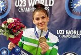 Imtynininkė D.Domikaitytė pasaulio jaunimo čempionate iškovojo bronzos medalį! (papildyta)
