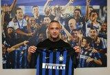 """R.Nainggolanas atskleidė, kodėl persikėlė į """"Inter"""": """"Nebesijaučiau svarbus Romoje"""""""