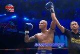 Po žandikaulio lūžio S.Gaižauskas Tailande sugrįžo pergalingai