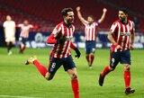 """Vos 5 smūgius atlikęs """"Atletico"""" nugalėjo """"Sevilla"""" futbolininkus"""