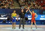 P.Galkinas tęs kovą dėl pasaulio imtynių čempionato bronzos