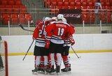 """Traumų išretinta """"Energija"""" išplėšė pergalę prieš talentingiausius Baltarusijos ledo ritulininkus"""