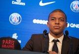 """PSG treneris: """"K.Mbappe pasiruošęs debiutuoti jau artimiausiose rungtynėse"""""""