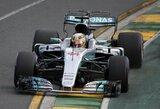 Pirmoje sezono kvalifikacijoje – L.Hamiltono rekordas ir D.Ricciardo avarija