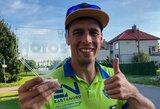 """A.Gelažninkas dominavo """"Moto5"""" lenktynėse"""