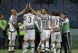 """""""Juventus"""" patiesė """"Lazio"""" ir žais Italijos taurės pusfinalyje"""