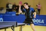 Lietuvos vyrų stalo teniso rinktinė Europos čempionate nugalėjo ir antrąją varžovę
