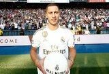 """Prie """"Real"""" prisijungęs E.Hazardas: """"Visi žino, kad Z.Zidane'as nuo vaikystės buvo mano dievaitis"""""""