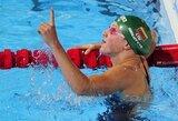R.Meilutytė ir D.Rapšys galingai žengė į pasaulio jaunimo plaukimo čempionato finalus