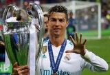 TOP-10: įspūdingiausi C.Ronaldo užfiksuoti rekordai
