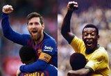 Brazilijos rinktinės treneris Tite įgėlė – L.Messi nevertas palyginimų su Pele