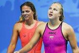 J.Jefimovos ir R.Meilutytės dvikova Europos čempionate neįvyks