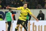 """Vokietijoje """"Borussia"""" iškovojo jau antrą pergalę iš eilės"""