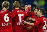 """Vokietijoje svarbią pergalę iškovojo """"Bayer"""" klubas"""