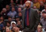 """Buvęs J.Valančiūno treneris susitiks su """"Lakers"""""""