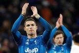 """""""Juventus"""" žvaigždė C.Ronaldo šią savaitę sugrįš į Italiją?"""