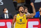 """""""Maccabi"""" nutraukė keturių nesėkmių seriją"""