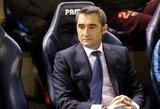 """""""Barcos"""" strategas E.Valverde apie P.Coutinho: """"Mes gerbiame tai, kad jis žaidžia kitame klube"""""""