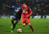 """PSG rungtynių pabaigoje palaužė antros lygos klubą, """"Monaco"""" po įspūdingos kovos įveikė """"Marseille"""""""