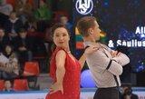 S.Ambrulevičius ir A.Reed prestižinėse varžybose Maskvoje užima 5-ą vietą