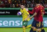 """Pergalės prieš danus neužteko – lietuviai baigė pasirodymą UEFA """"eEuro 2020"""" turnyre"""