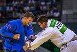 Dziudo imtynininkai M.Paškevičius ir S.Pakenytė kovos dėl Europos žaidynių bronzos