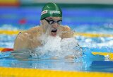 G.Titenis ir J.Ščerbinskaitė nepateko į pasaulio plaukimo čempionato pusfinalius (atnaujinta)