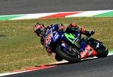 """""""MotoGP"""" sezono lyderis pirmas pradės Italijos GP lenktynes"""