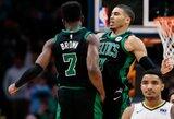 """Lemiamą metimą pataikiusi """"Celtics"""" išnešė sveiką kailį iš Denverio"""