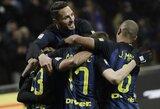"""Puikūs """"Inter"""" komandiniai išpuoliai nepaliko vilčių """"Pescara"""" klubui"""