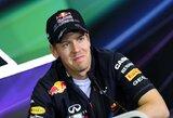 """S.Vettelis: """"Dėl padangų lenktynės pasidarė visiškai kitokios"""""""