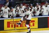 Latviai iškovojo antrą pergalę pasaulio čempionate, britai patyrė gėdingą pralaimėjimą