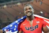 """J.Gatlinas: """"U.Boltas yra nuostabus atletas, bet manau, kad galiu jį nugalėti"""""""