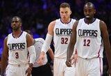 "Los Andželo derbyje – B.Griffino šou ir ""Clippers"" pergalė"