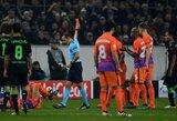 """Raudonos kortelės ir sunkios rungtynės nesutrukdė """"Man City"""" klubui pasiekti Čempionų lygos aštuntfinalio"""