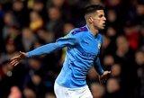 """""""Carabao"""" taurės ketvirtfinalis: """"Man City"""" triumfas ir """"Leicester City"""" pergalė po baudinių srijos"""